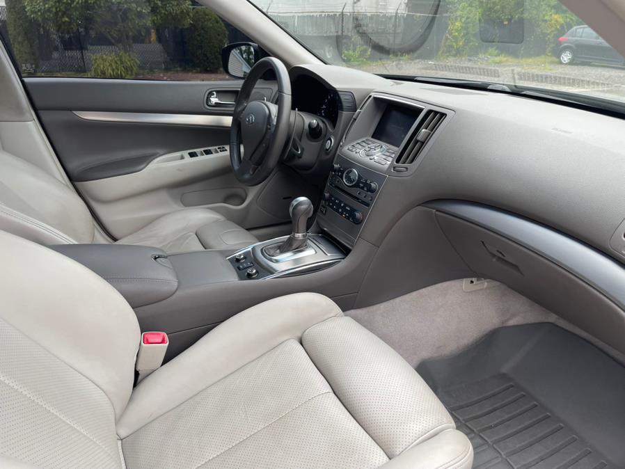 Used Infiniti G37 Sedan 4dr x AWD 2011   New Beginning Auto Service Inc . Ashland , Massachusetts