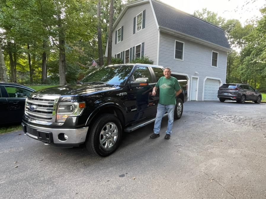 "Used Ford F-150 4WD SuperCrew 145"" Lariat 2013 | Bridge Motors LLC. Derby, Connecticut"