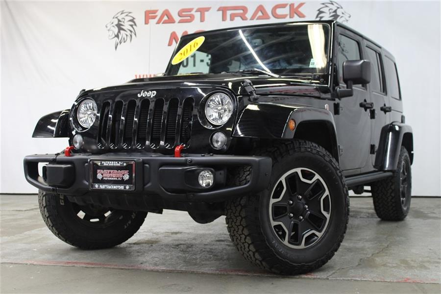 Used Jeep Wrangler Unlimited RUBICON 2016 | Fast Track Motors. Paterson, New Jersey