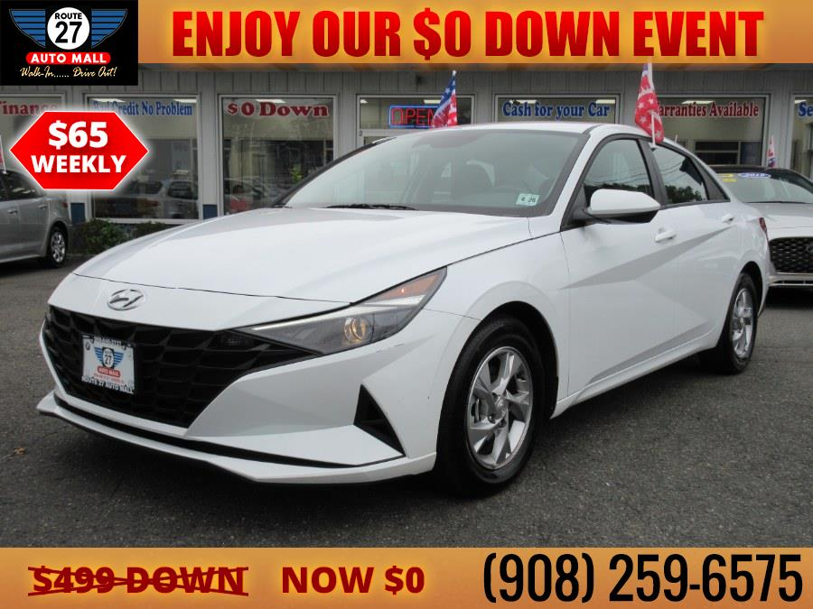 Used 2021 Hyundai Elantra in Linden, New Jersey | Route 27 Auto Mall. Linden, New Jersey
