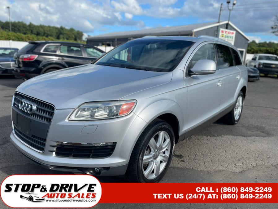 Used 2007 Audi Q7 in East Windsor, Connecticut | Stop & Drive Auto Sales. East Windsor, Connecticut