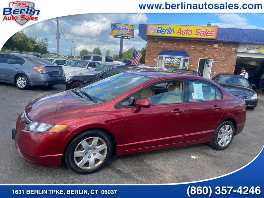 Used 2006 Honda Civic Sdn in Berlin, Connecticut | Berlin Auto Sales LLC. Berlin, Connecticut