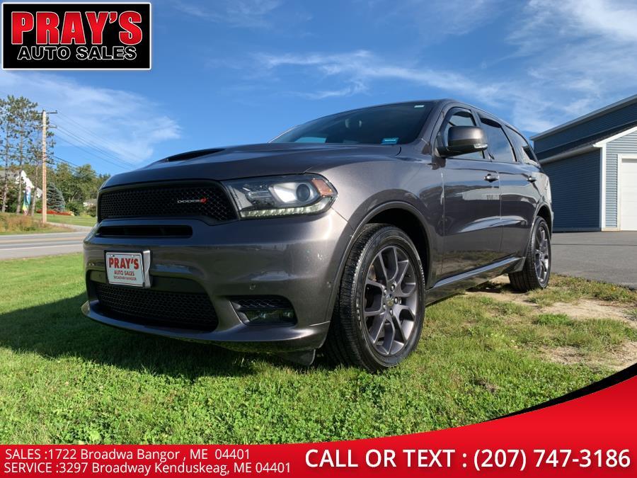 Used Dodge Durango R/T AWD 2018 | Pray's Auto Sales . Bangor , Maine