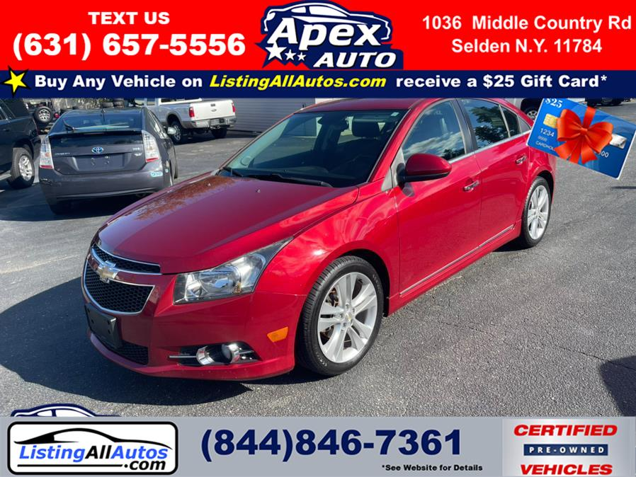 Used 2014 Chevrolet Cruze in Patchogue, New York   www.ListingAllAutos.com. Patchogue, New York
