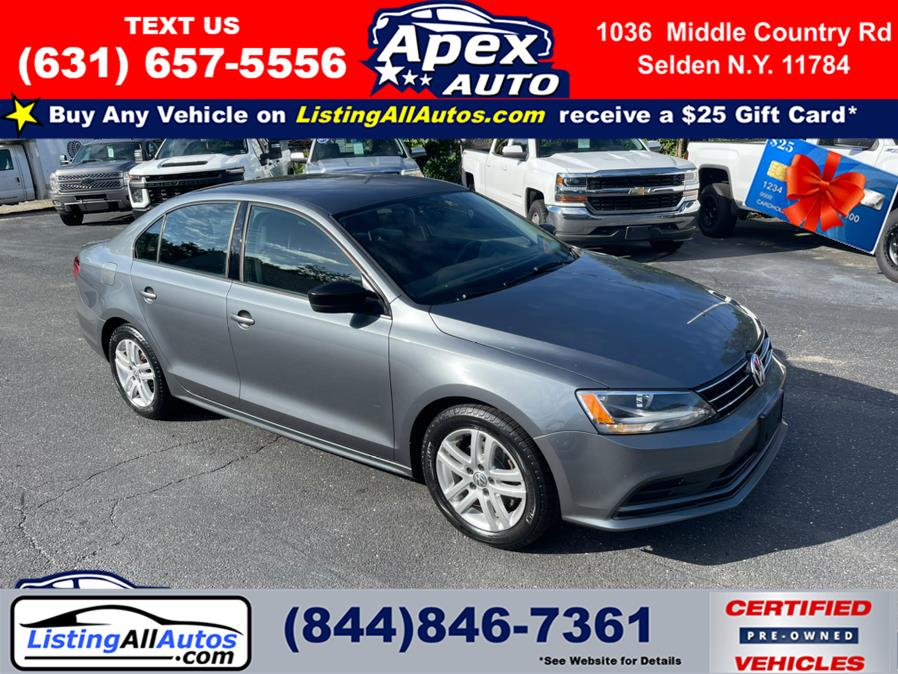 Used 2015 Volkswagen Jetta Sedan in Patchogue, New York   www.ListingAllAutos.com. Patchogue, New York