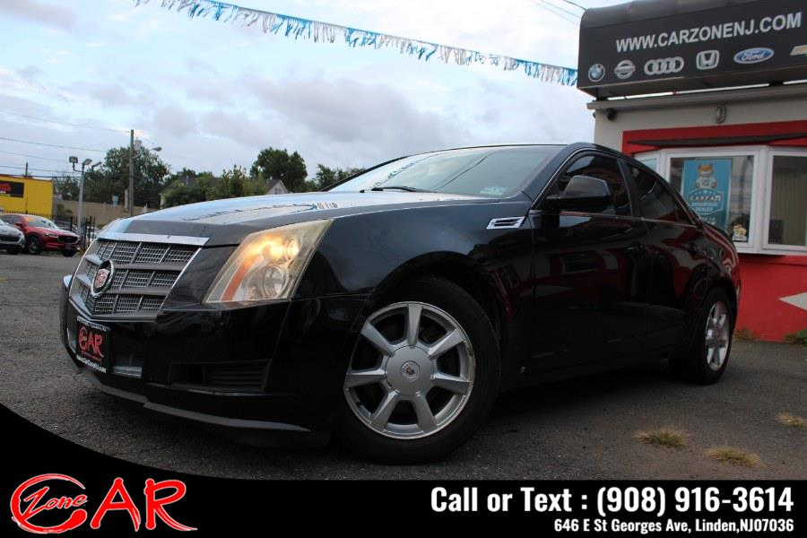 Used Cadillac CTS 4dr Sdn RWD w/1SB 2008 | Car Zone. Linden, New Jersey