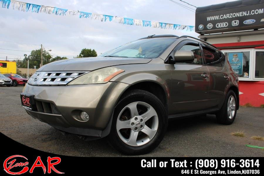 Used Nissan Murano 4dr SE AWD V6 2004 | Car Zone. Linden, New Jersey