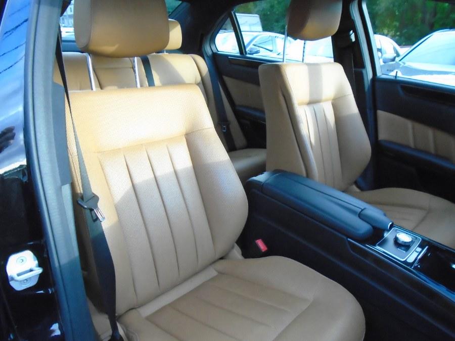 Used Mercedes-Benz E-Class 4dr Sdn E550 Sport 4MATIC *Ltd Avail* 2013 | Jim Juliani Motors. Waterbury, Connecticut