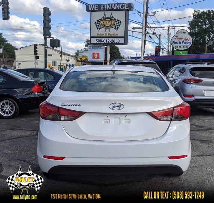 Used Hyundai Elantra 4dr Sdn Auto SE (Alabama Plant) 2014   Rally Motor Sports. Worcester, Massachusetts