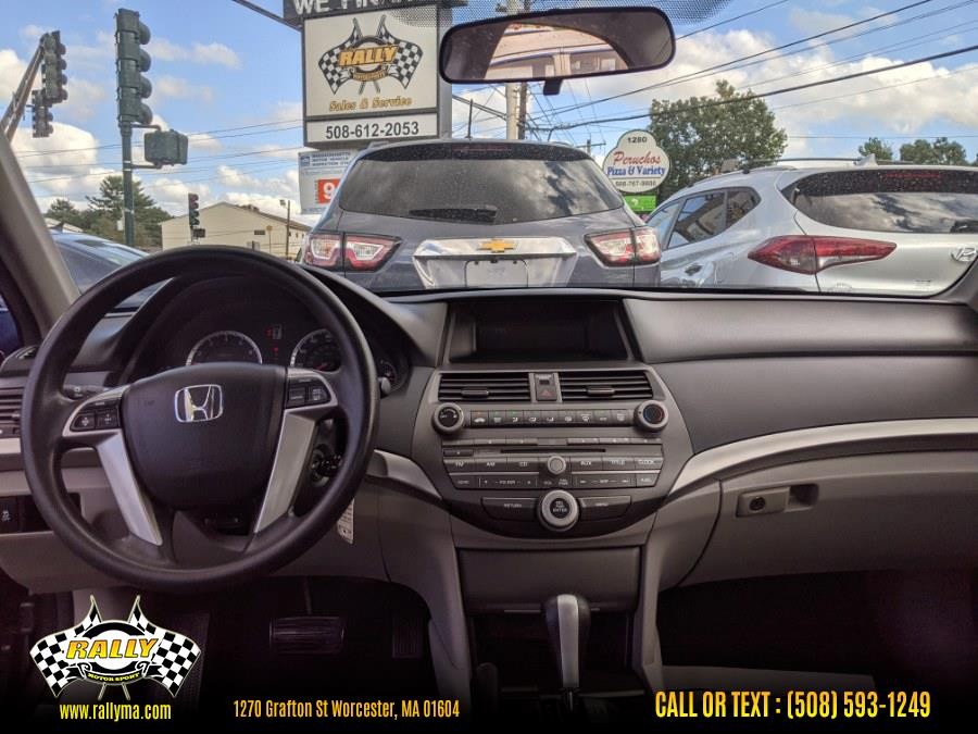 Used Honda Accord Sdn 4dr I4 Auto LX 2012   Rally Motor Sports. Worcester, Massachusetts