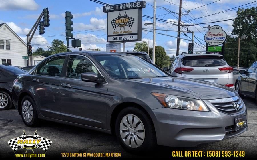 Used 2012 Honda Accord Sdn in Worcester, Massachusetts | Rally Motor Sports. Worcester, Massachusetts