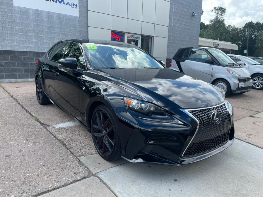Used Lexus IS 250 4dr Sport Sdn Crafted Line AWD 2015   Carsonmain LLC. Manchester, Connecticut