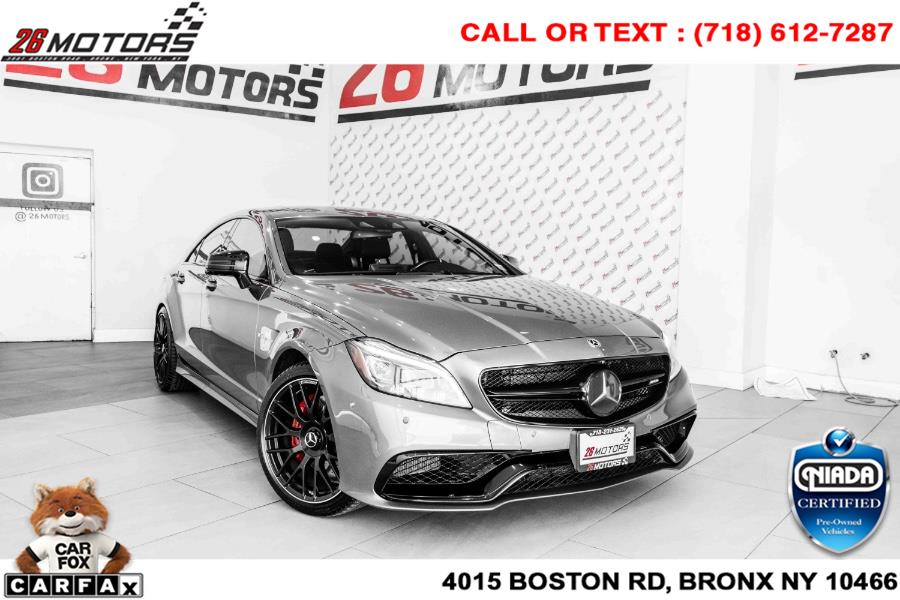 Used Mercedes-Benz CLS AMG CLS 63 S 4MATIC Coupe 2017   26 Motors Corp. Bronx, New York