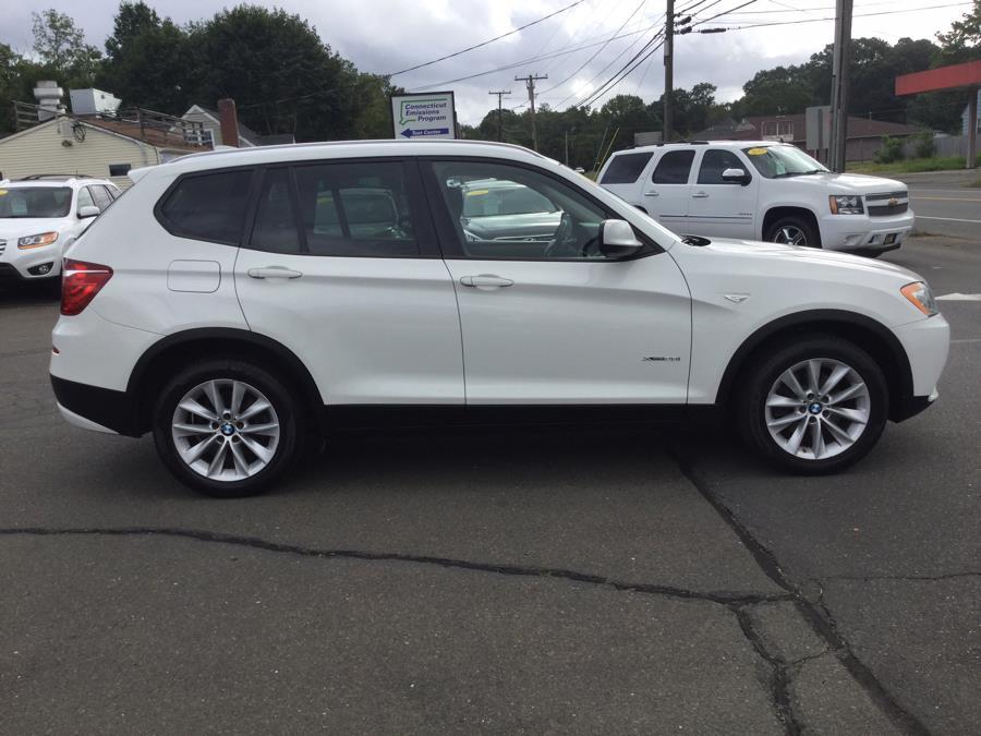 Used BMW X3 AWD 4dr xDrive28i 2014 | L&S Automotive LLC. Plantsville, Connecticut