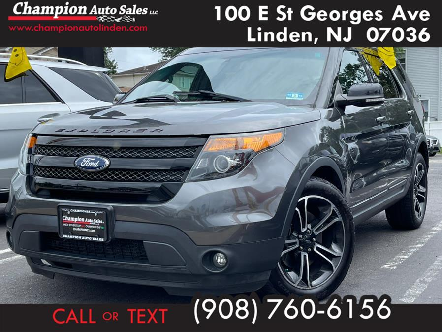 Used 2015 Ford Explorer in Linden, New Jersey | Champion Used Auto Sales. Linden, New Jersey