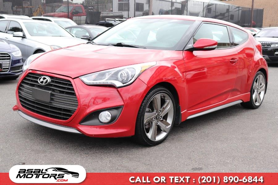 Used Hyundai Veloster 3dr Cpe Man Turbo w/Blue Int 2014   Asal Motors. East Rutherford, New Jersey
