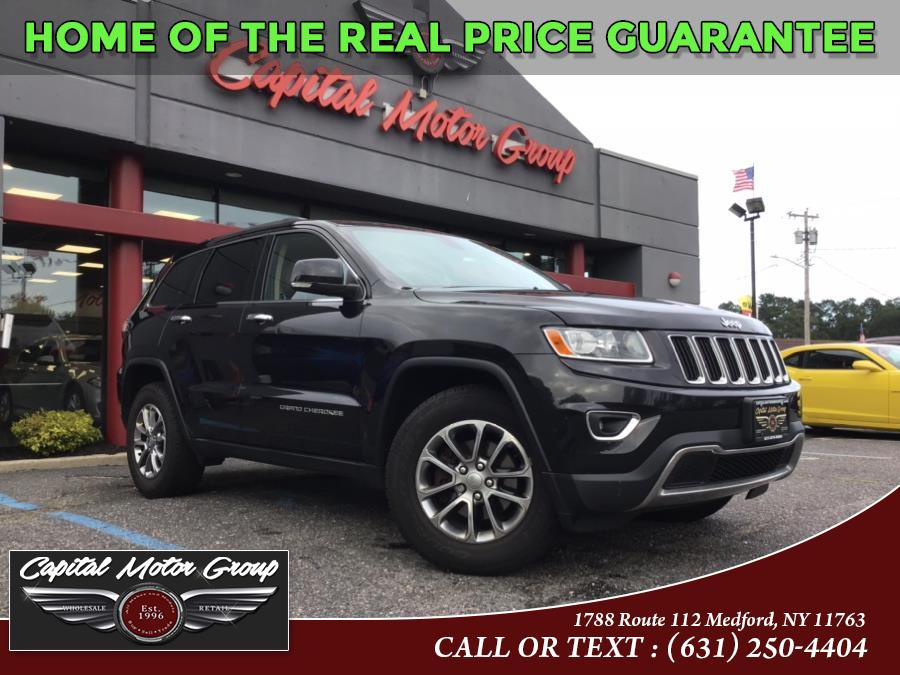 Used Jeep Grand Cherokee 4WD 4dr Limited 2014 | Capital Motor Group Inc. Medford, New York