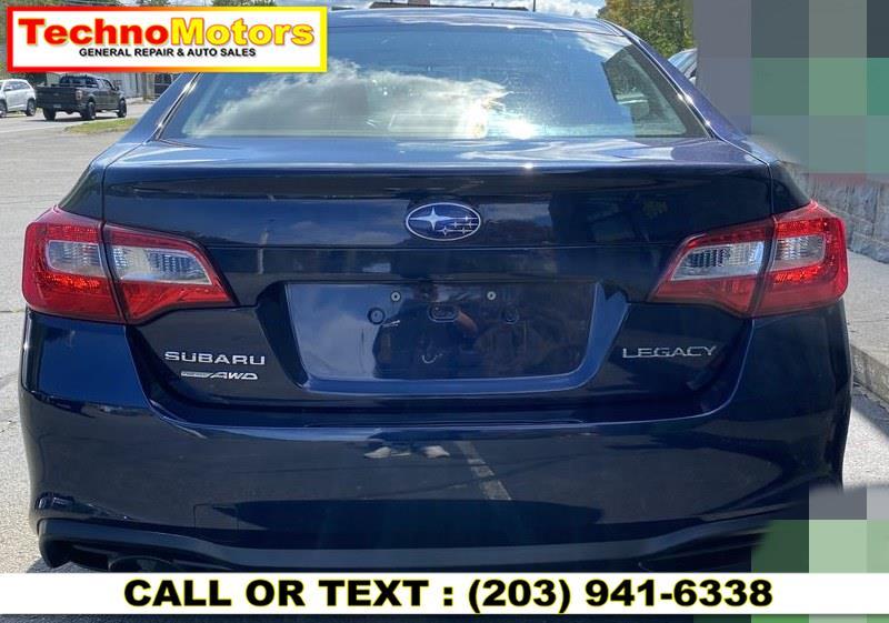 Used Subaru Legacy 2.5i 2018 | Techno Motors . Danbury , Connecticut