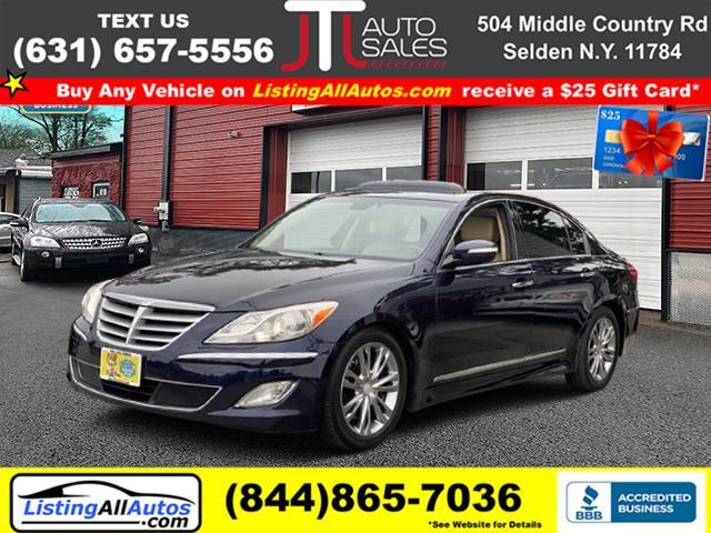 Used Hyundai Genesis 4dr Sdn V8 4.6L 2012   www.ListingAllAutos.com. Patchogue, New York