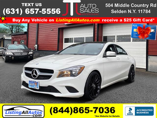 Used 2016 Mercedes-benz Cla in Patchogue, New York | www.ListingAllAutos.com. Patchogue, New York