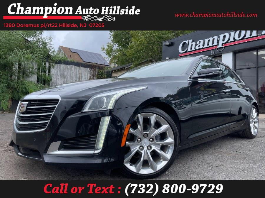 Used 2015 Cadillac CTS Sedan in Hillside, New Jersey | Champion Auto Sales. Hillside, New Jersey