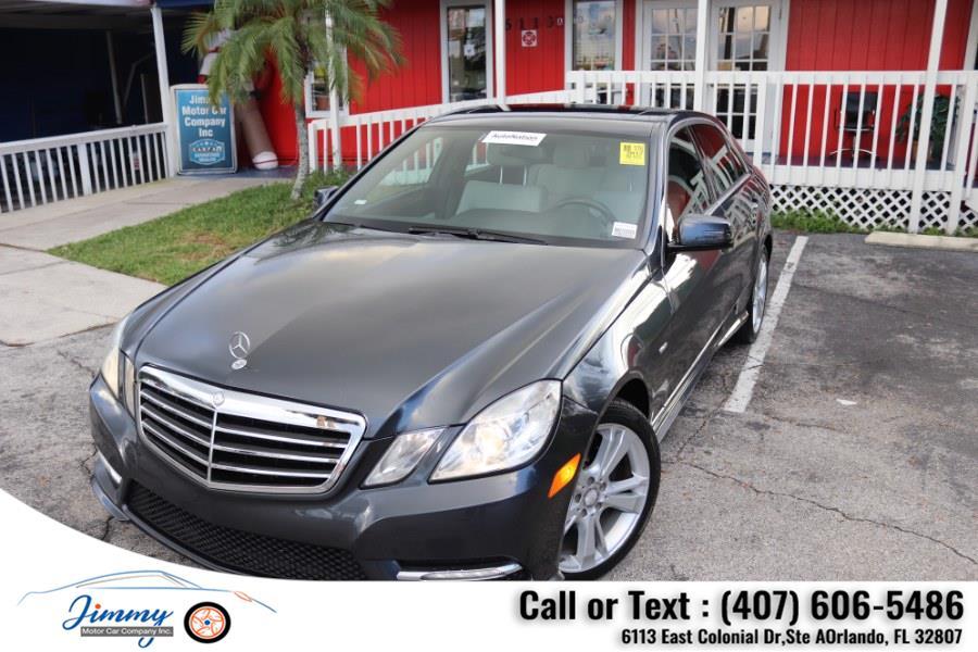 Used Mercedes-Benz E-Class 4dr Sdn E350 Luxury 4MATIC 2012 | Jimmy Motor Car Company Inc. Orlando, Florida