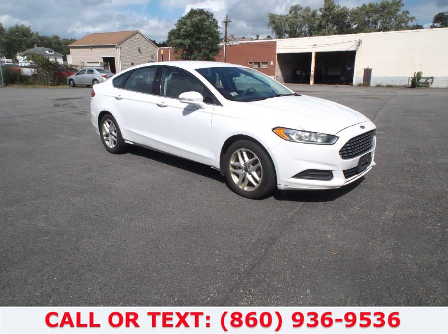 Used FORD FUSION 1.5 2014   Lee Motors Sales Inc. Hartford, Connecticut