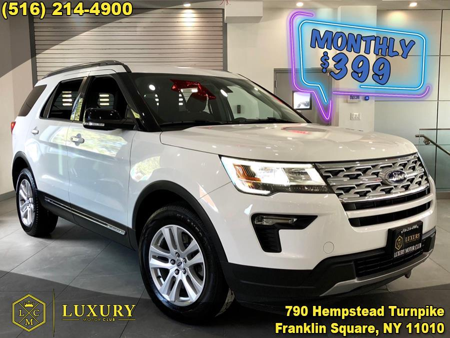 2018 Ford Explorer XLT 4WD, available for sale in Franklin Square, NY