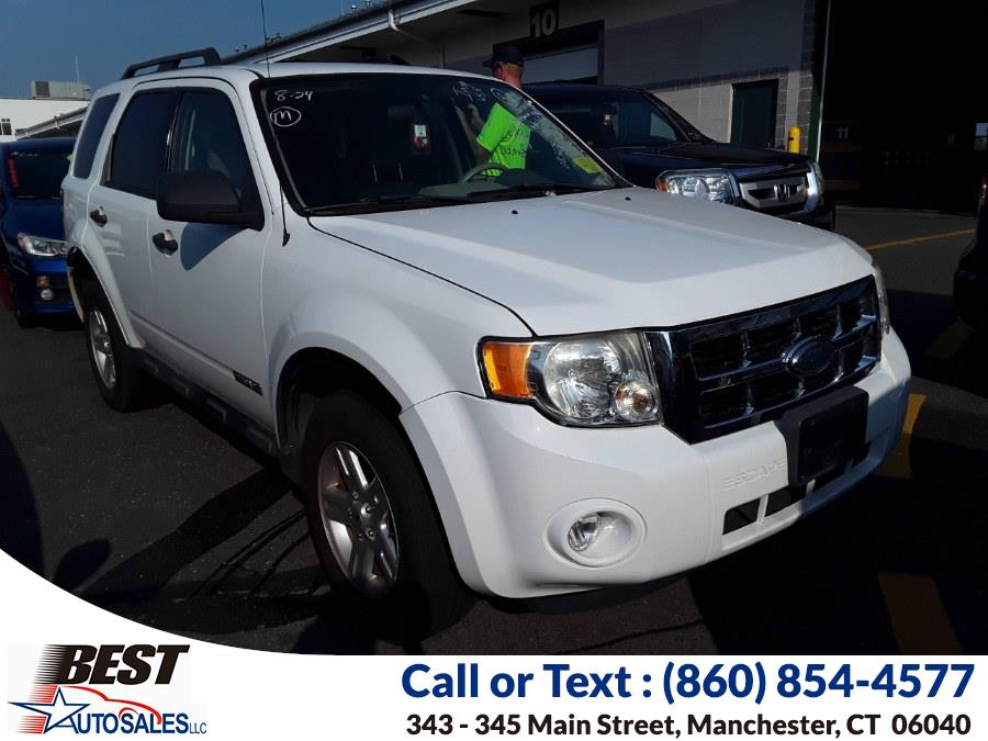 Used Ford Escape 4WD 4dr I4 CVT Hybrid 2008   Best Auto Sales LLC. Manchester, Connecticut