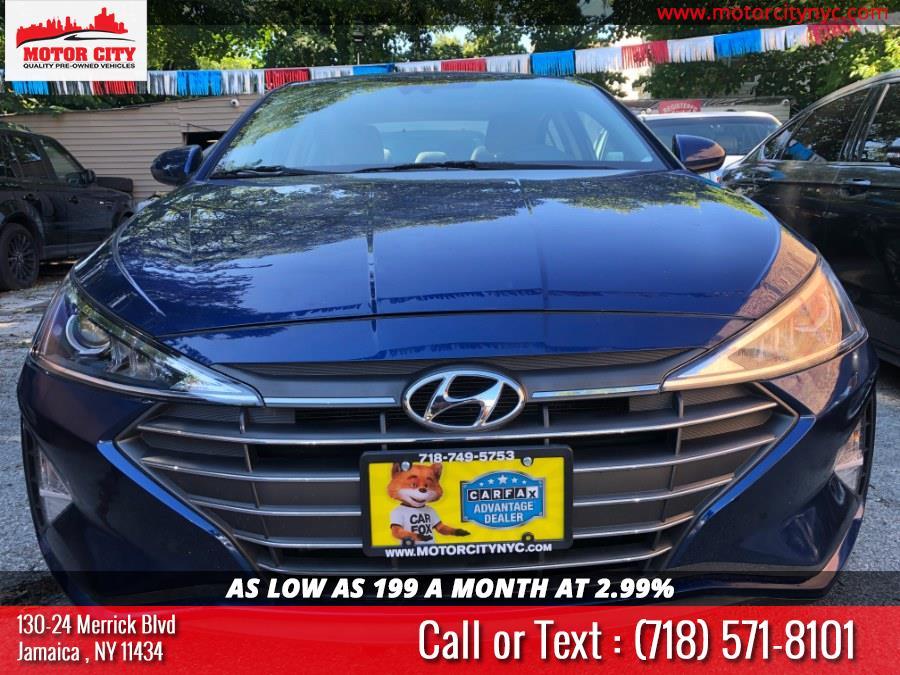 Used 2019 Hyundai Elantra in Jamaica, New York | Motor City. Jamaica, New York