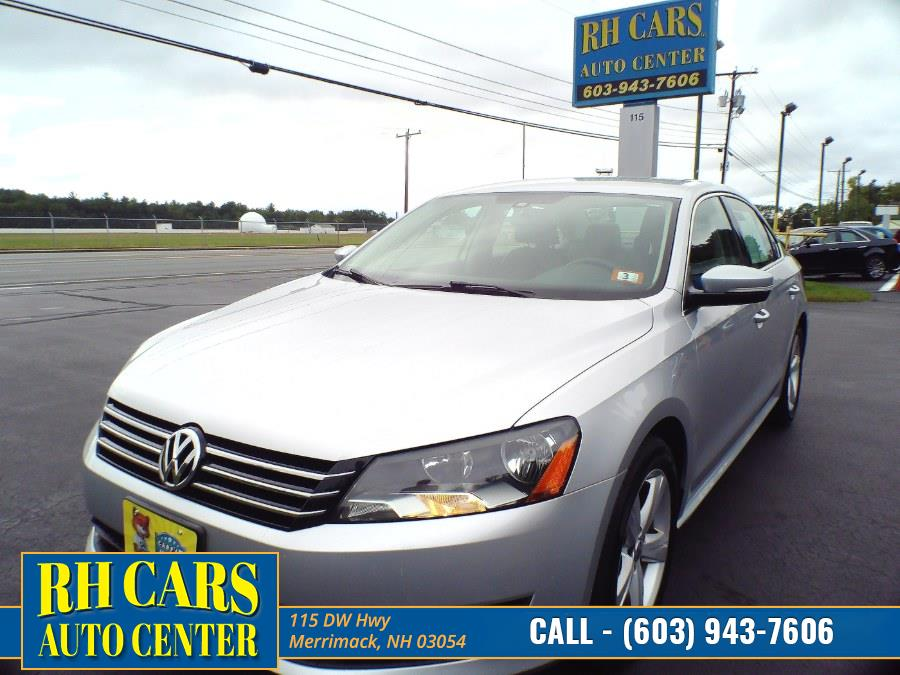 Used 2015 Volkswagen Passat in Merrimack, New Hampshire | RH Cars LLC. Merrimack, New Hampshire