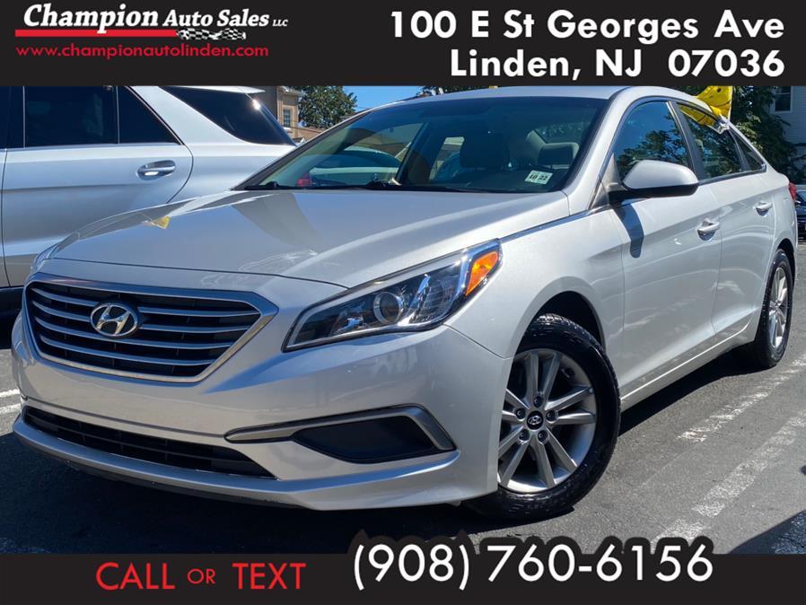 Used 2017 Hyundai Sonata in Linden, New Jersey | Champion Used Auto Sales. Linden, New Jersey
