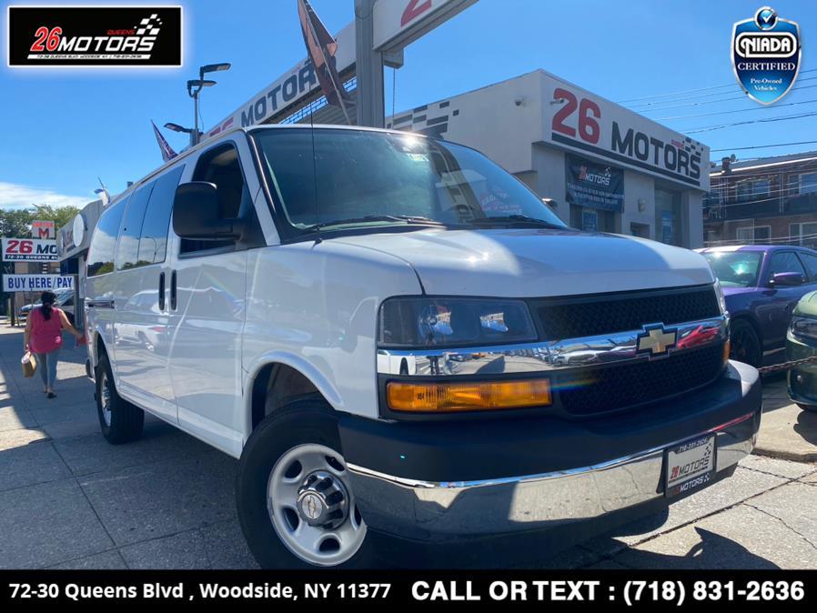 "Used Chevrolet Express Passenger RWD 3500 135"" LT 2019 | 26 Motors Queens. Woodside, New York"