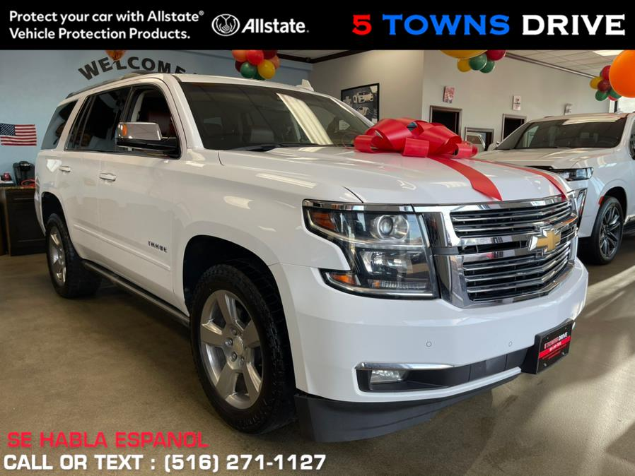 Used Chevrolet Tahoe 4WD 4dr Premier 2017 | 5 Towns Drive. Inwood, New York