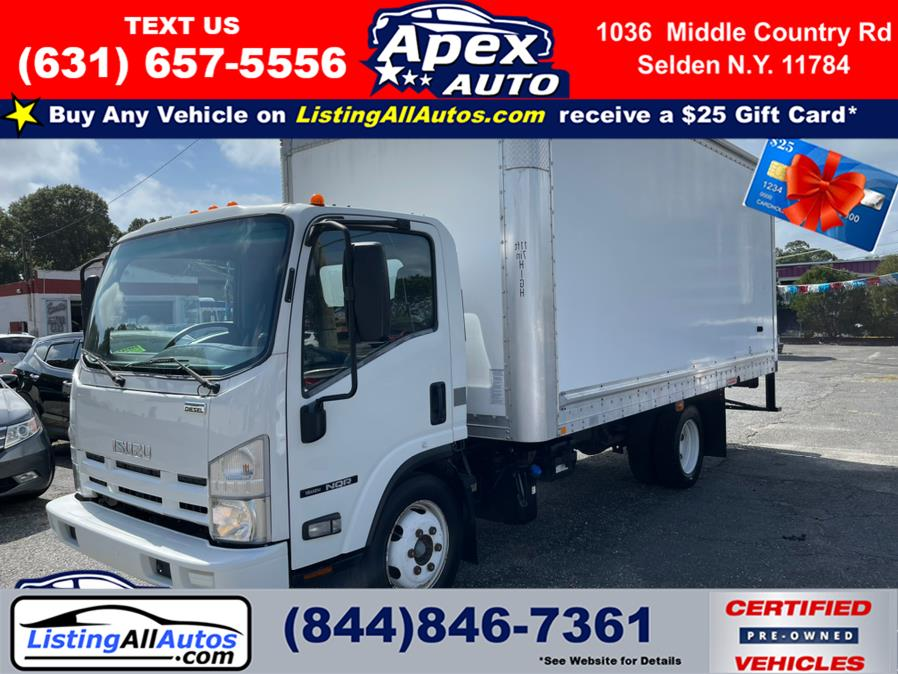 Used 2013 Isuzu NQR DSL REG AT in Patchogue, New York   www.ListingAllAutos.com. Patchogue, New York