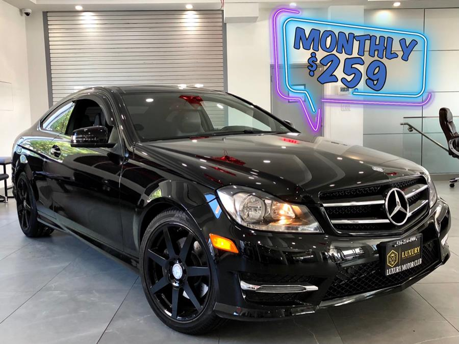 Used Mercedes-Benz C-Class 2dr Cpe C 350 4MATIC 2015 | C Rich Cars. Franklin Square, New York