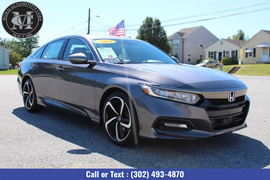 Used Honda Accord Sedan Sport 1.5T CVT 2019 | Morsi Automotive Corp. New Castle, Delaware