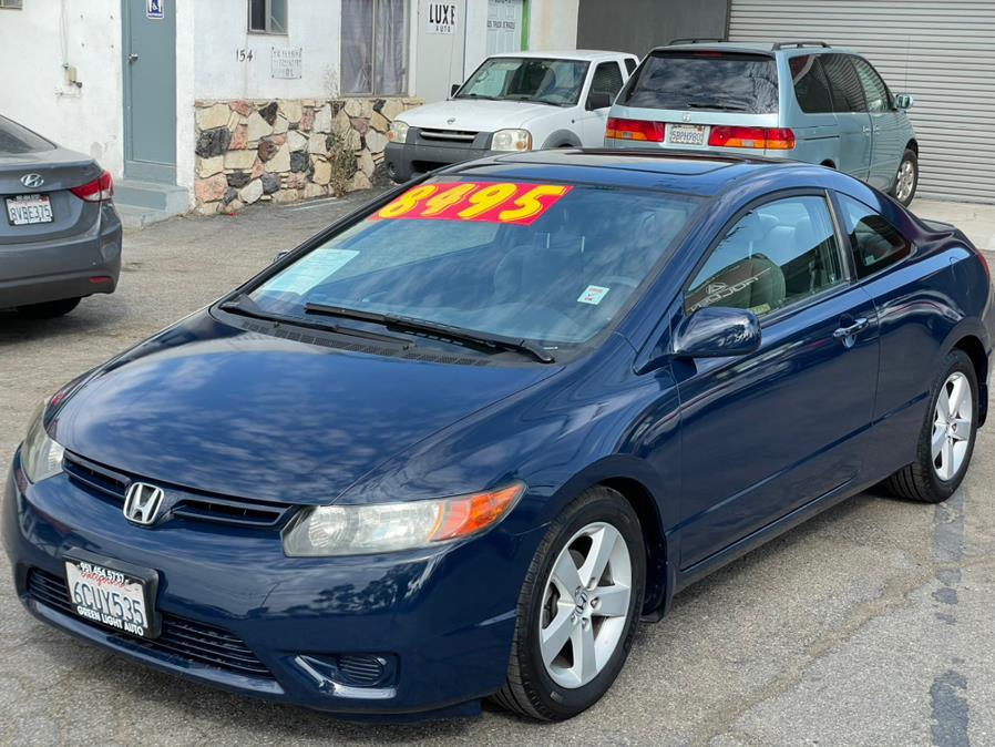 Used Honda Civic Cpe 2dr AT EX 2007 | Green Light Auto. Corona, California