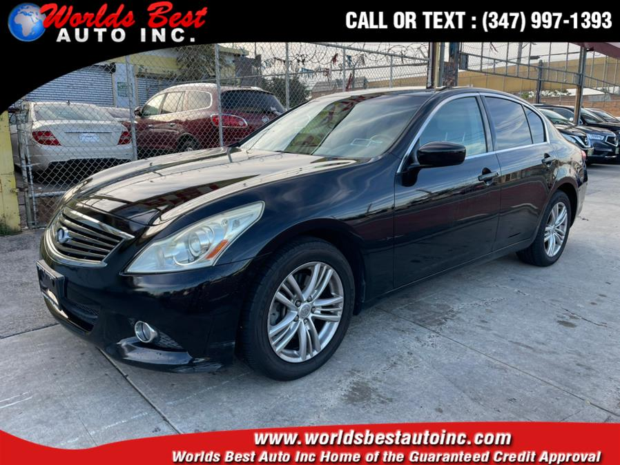 2011 INFINITI G37 Sedan 4dr x AWD, available for sale in Brooklyn, NY