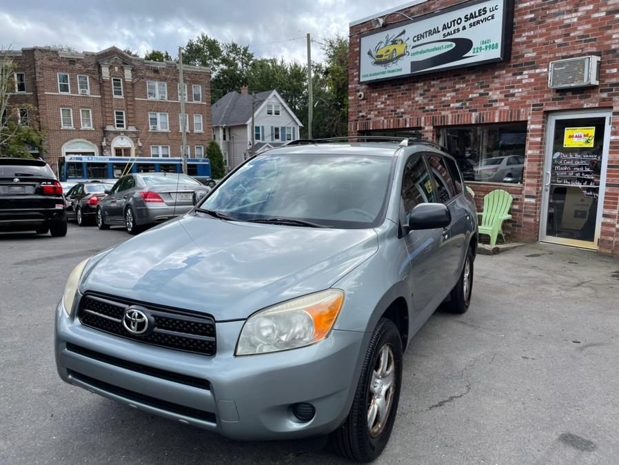 Used Toyota RAV4 4WD 4dr 4-cyl (Natl) 2007   Central Auto Sales & Service. New Britain, Connecticut