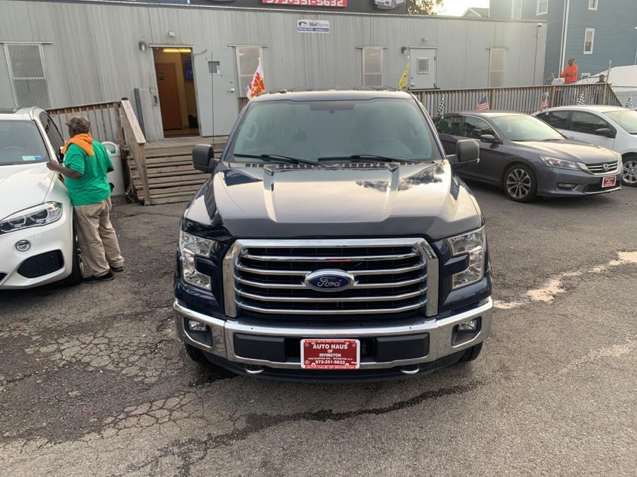 "Used Ford F-150 4WD SuperCrew 145"" XLT 2016   Auto Haus of Irvington Corp. Irvington , New Jersey"