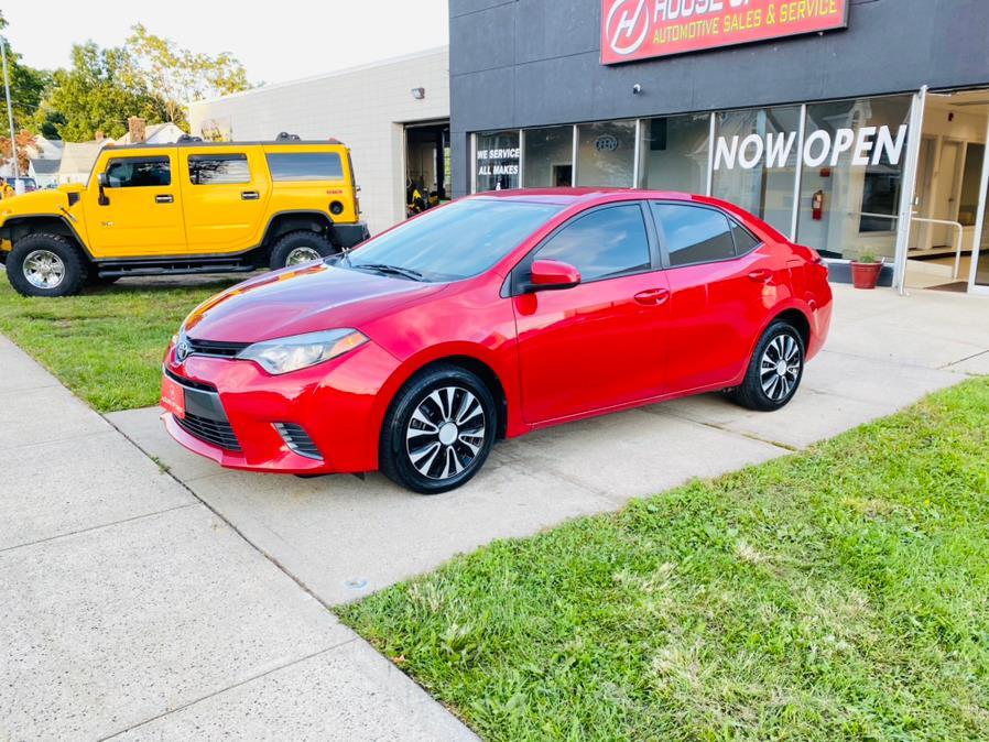 Used Toyota Corolla 4dr Sdn CVT LE Plus (Natl) 2016 | House of Cars CT. Meriden, Connecticut