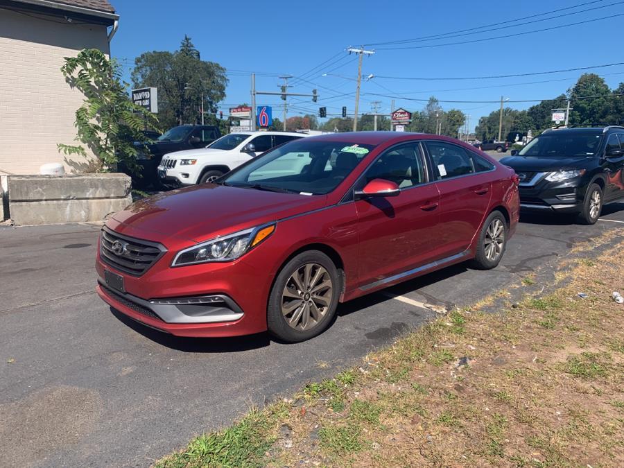 Used 2015 Hyundai Sonata in Vernon, Connecticut | Diamond Auto Cars LLC. Vernon, Connecticut
