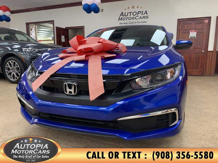 Used Honda Civic Sedan LX CVT 2021 | Autopia Motorcars Inc. Union, New Jersey