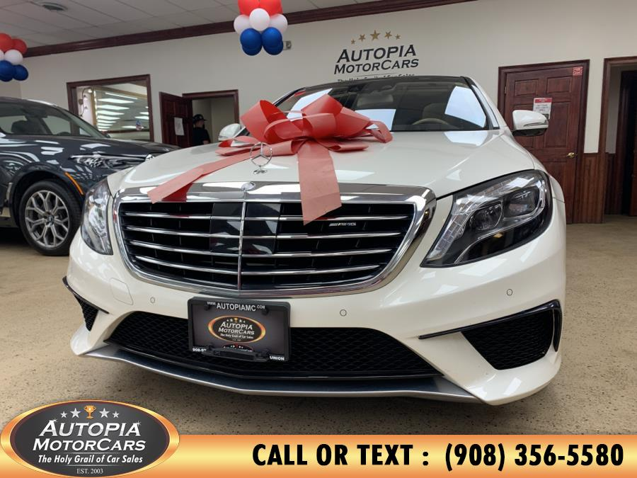 Used Mercedes-Benz S-Class 4dr Sdn S 63 AMG 4MATIC 2015 | Autopia Motorcars Inc. Union, New Jersey