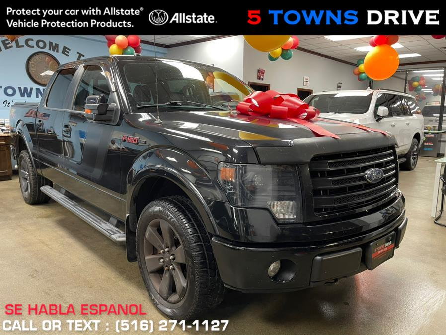 """Used Ford F-150 4WD SuperCrew 157"""" FX4 2014 