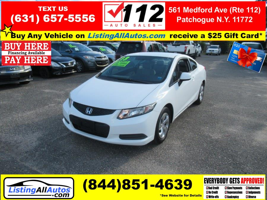 Used 2013 Honda Civic Cpe in Patchogue, New York   www.ListingAllAutos.com. Patchogue, New York