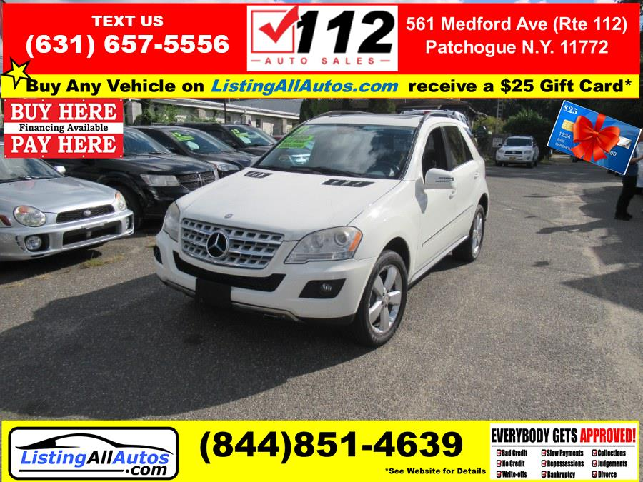 Used 2011 Mercedes-Benz M-Class in Patchogue, New York | www.ListingAllAutos.com. Patchogue, New York