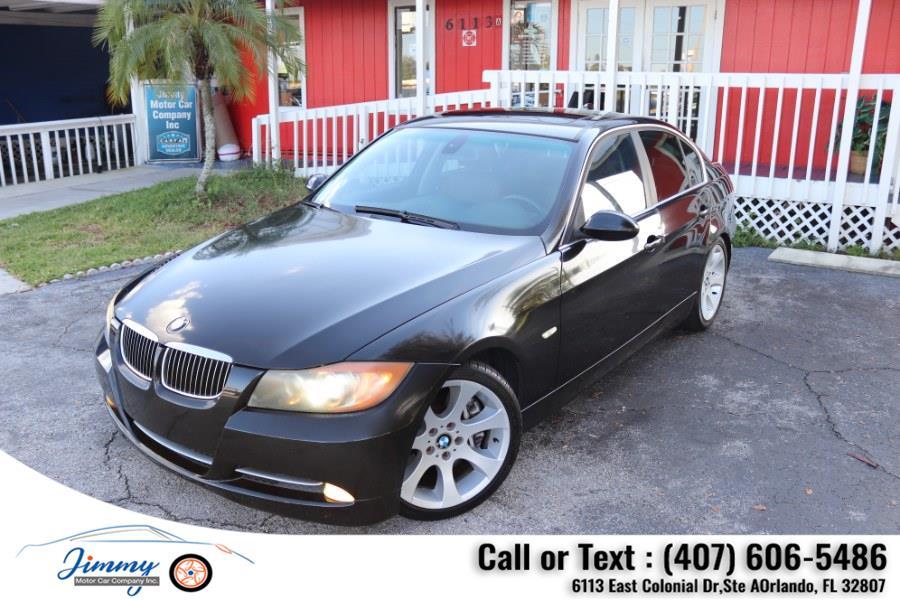Used BMW 3 Series 4dr Sdn 335i RWD 2007 | Jimmy Motor Car Company Inc. Orlando, Florida