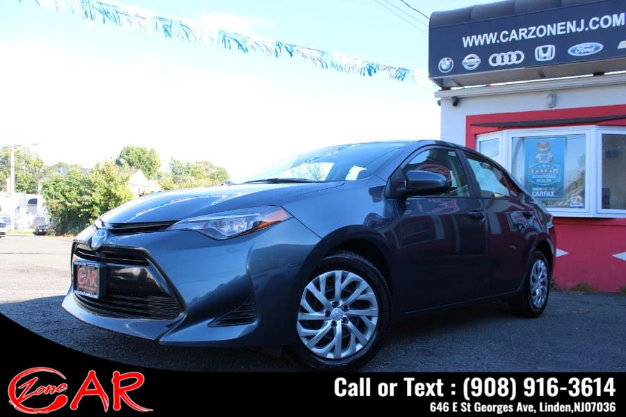 Used Toyota Corolla LE CVT (Natl) 2019   Car Zone. Linden, New Jersey